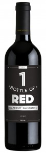 one bottle of red