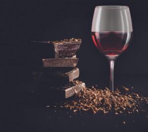 Chocolate e vinho